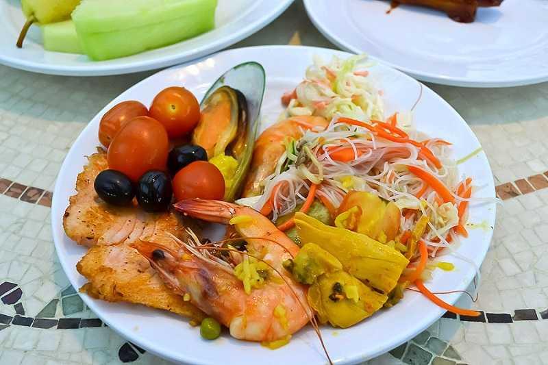 Индия морепродукты