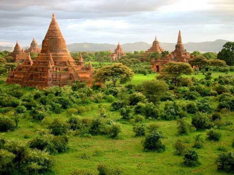 Индия пагода