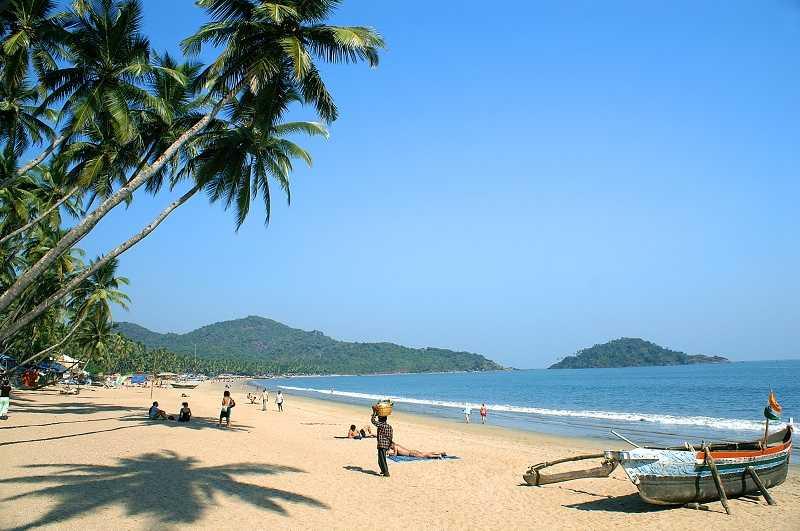 Индия пляжи Гоа