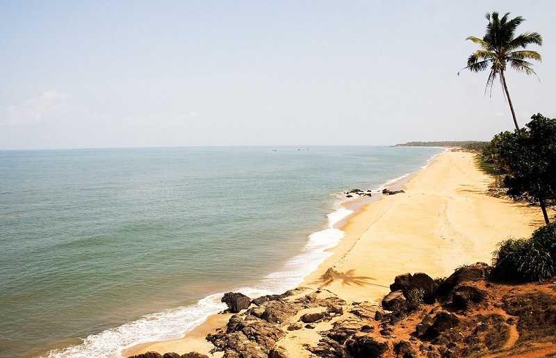 Керала пляж Каппад