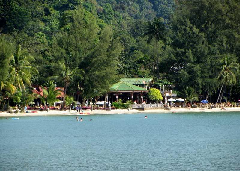 Ко Чанг пляж Чай Чет отдыхающие