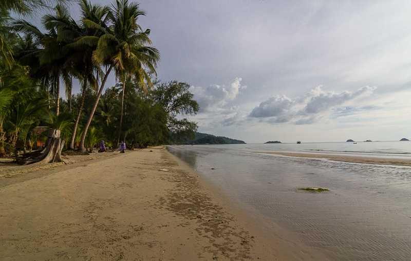 Ко Чанг пляж Клонг Прао природа