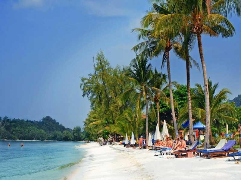 Ко Чанг пляж Клонг Прао центральная часть