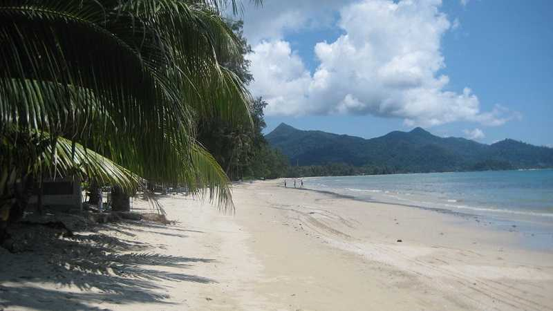 Ко Чанг пляж Клонг Прао
