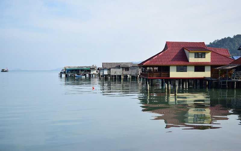 Ко Чанг рыбацкая деревня Банг Бао