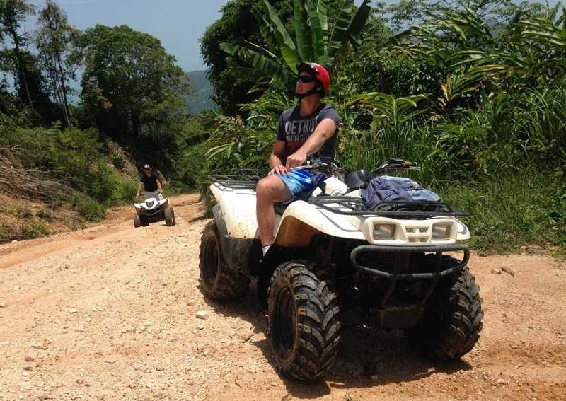 Ко Чанг в джунгли на квадроциклах