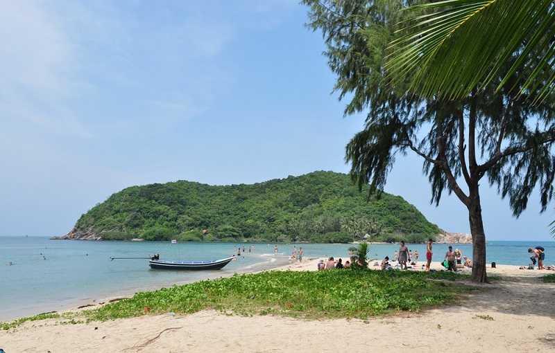 Ко Тао пляж Май Хаад
