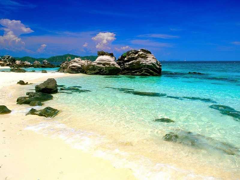 Коралловый остров.Пхукет