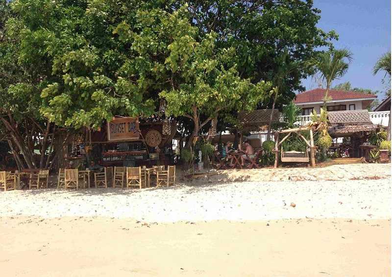 Краби Пляж Клонг Муанг кафе