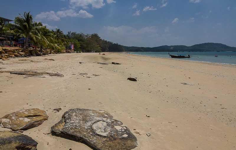 Краби Пляж Клонг Муанг камни