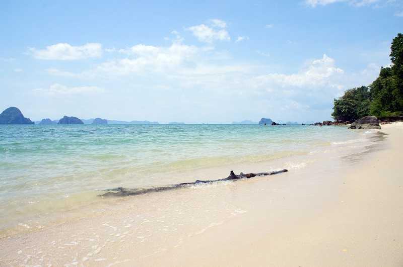 Краби Пляж Ноппарат Тара дикий пляж