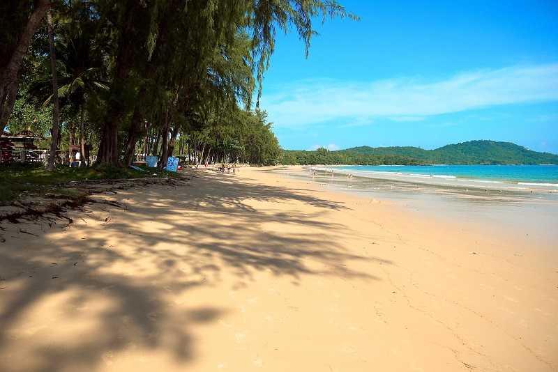 Краби пляж Клонг Муанг