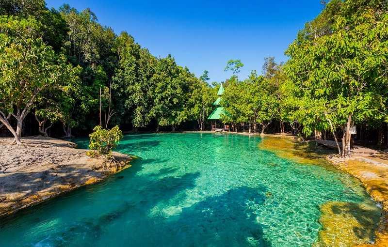 Курорт Ао Нанг Таиланд Изумрудный водоем