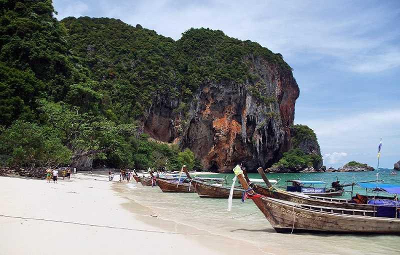 Курорт Ао Нанг Таиланд пляж Хат Ао Нанг