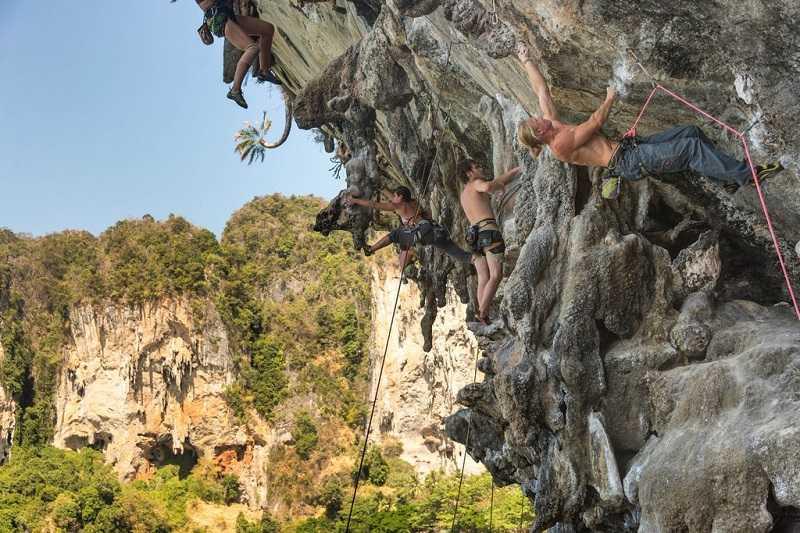 Курорт Ао Нанг Таиланд скалолазание