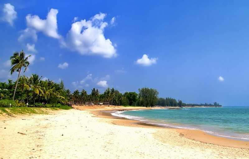 Курорт Као Лак пляж Нанг Тонг