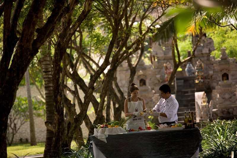 Курорт Танджунг Беноа кулинарные курсы