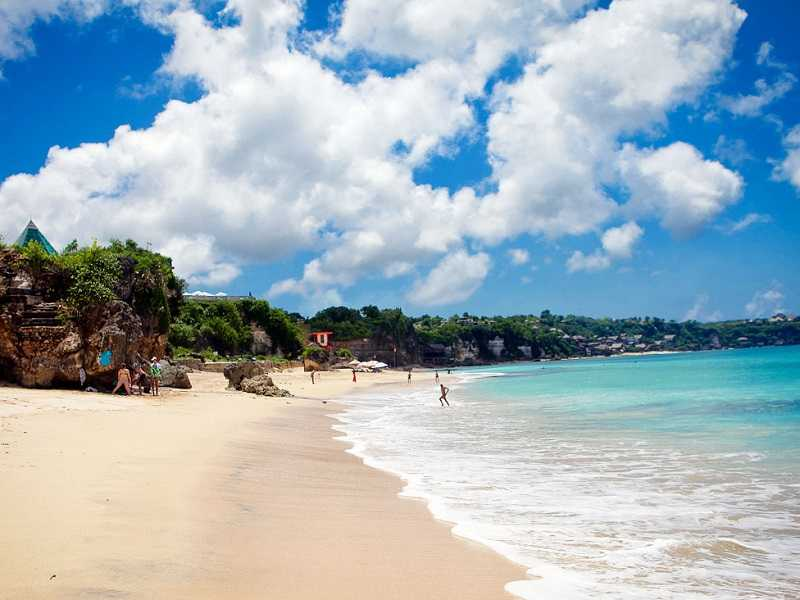 Курорт Улувату пляж Дримленд