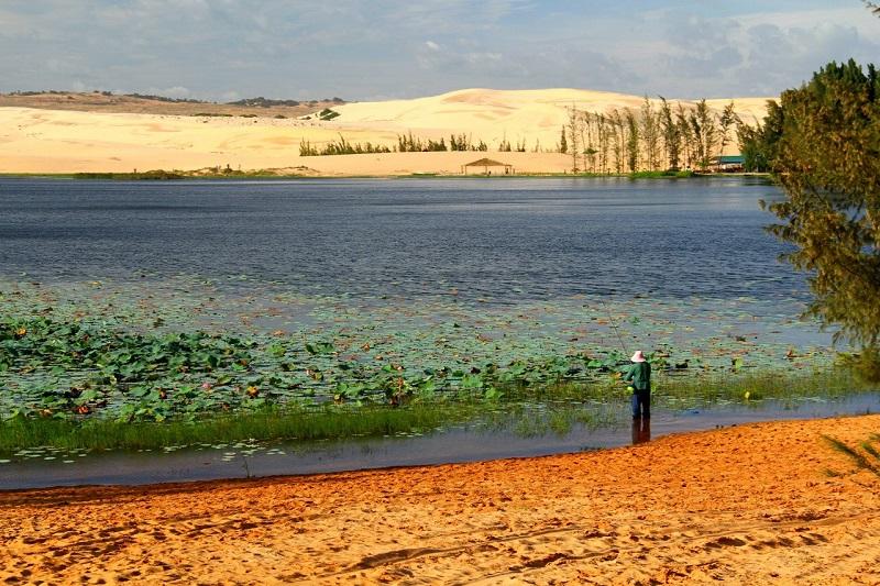 Муйне Белые дюны озеро лотосов