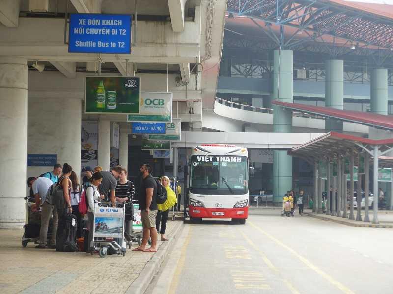 Нойбай аэропорт Ханоя автобусы