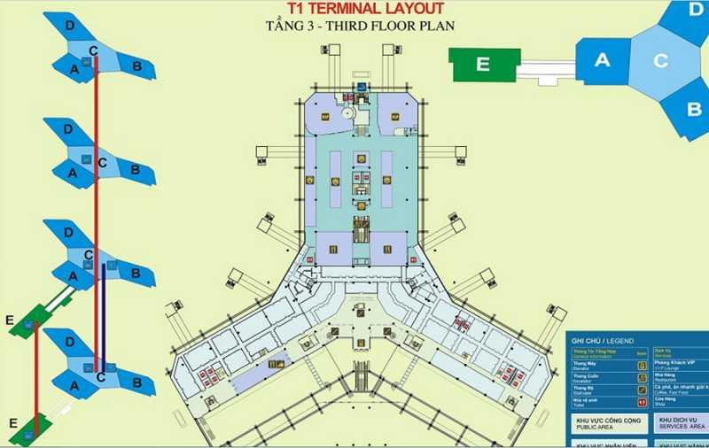 Нойбай аэропорт Ханоя терминал т1