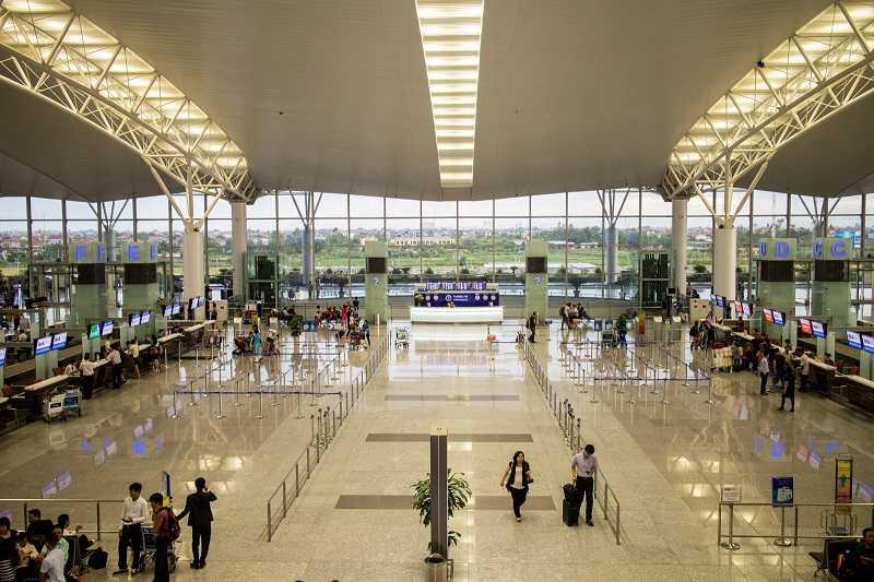 Нойбай аэропорт Ханоя внутри