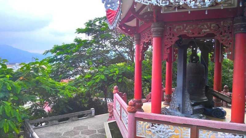 Нячанг пагода Лонг Шон колокол желаний