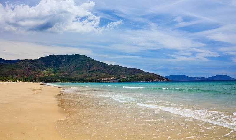 Нячанг пляж Бай Дай состояние пляжа