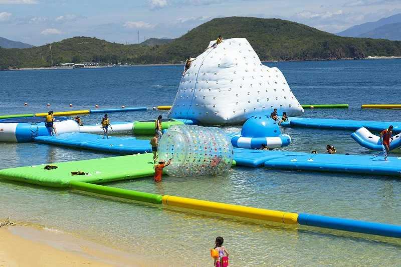 Остров Хон Там во Вьетнаме пляж развлечения