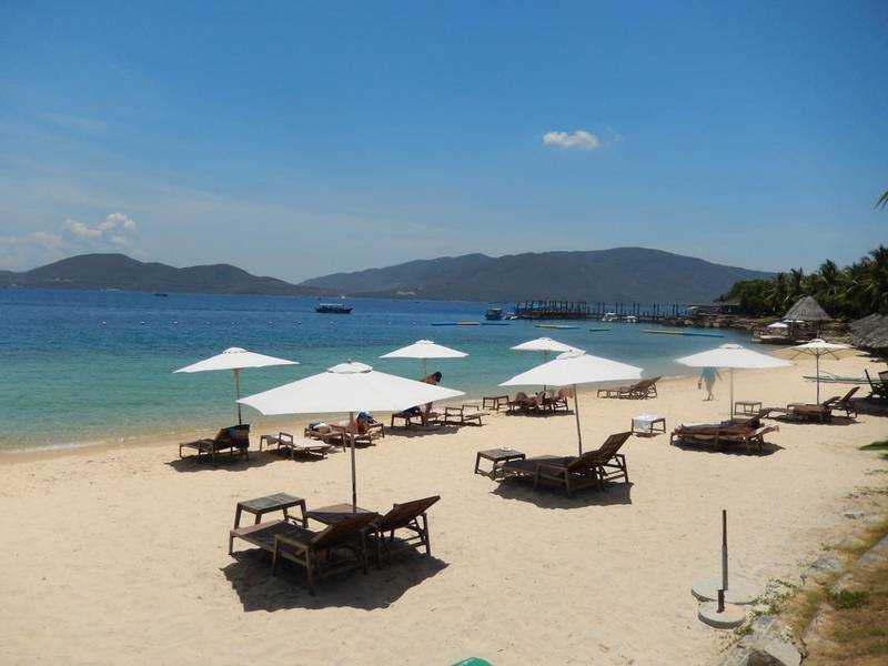 Остров Хон Там во Вьетнаме пляж