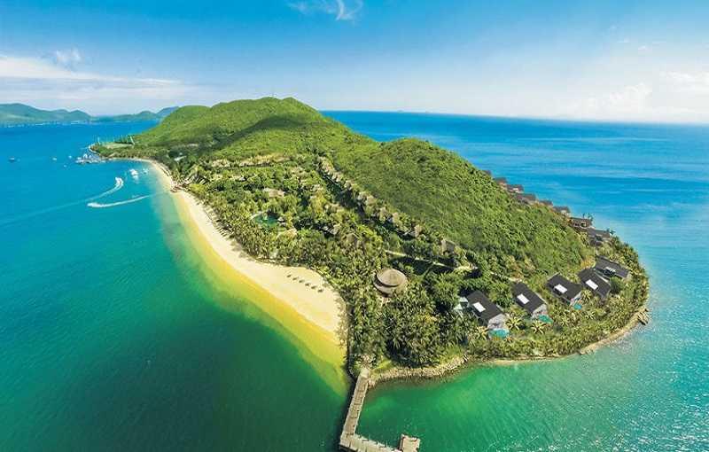 Остров Хон Там во Вьетнаме