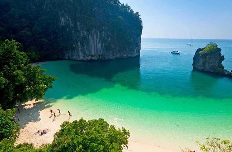 Остров Хонг Краби Тайланд