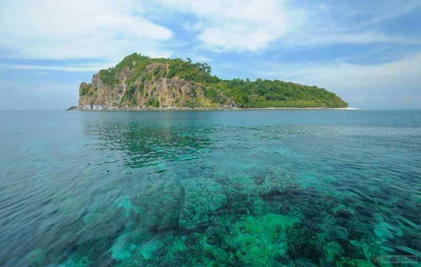 Остров Хонг Краби пляж Пелай рифы