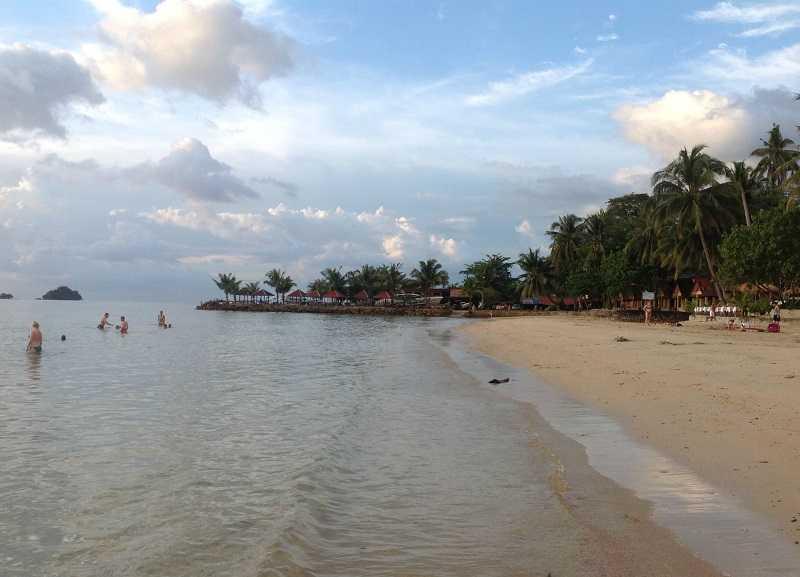 Остров Ко Чанг пляж Кай Бей северная часть