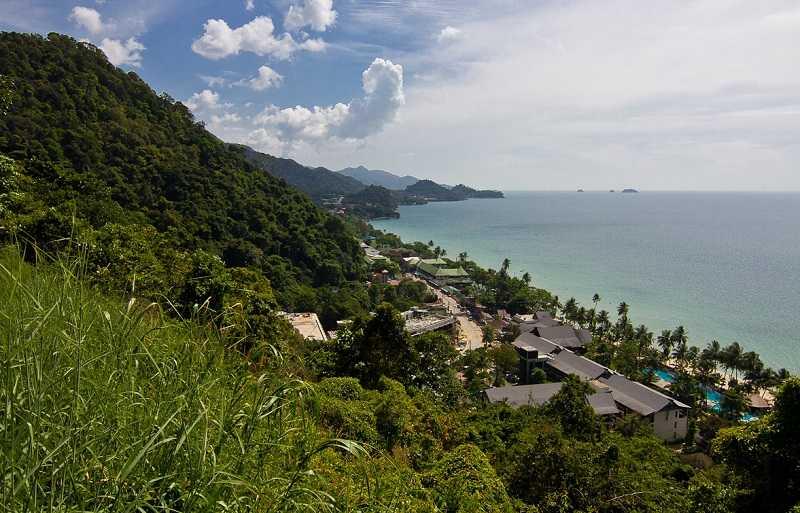 Остров Ко Чанг пляж Кай Бей смотровая площадка