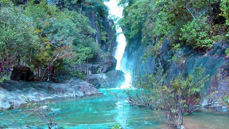 Остров Ко Чанг водопад Клонг Плу