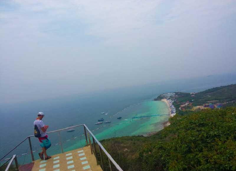 Остров Ко Лан смотровая площадка