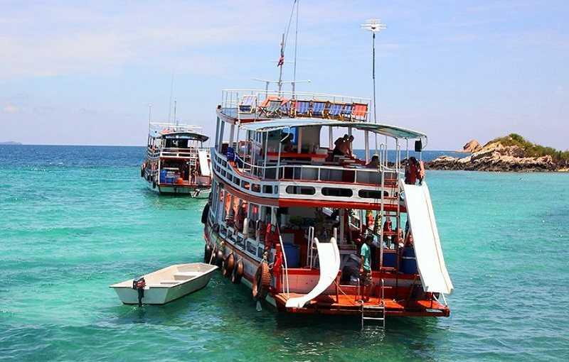 Остров Ко Ланта прогулка на катере