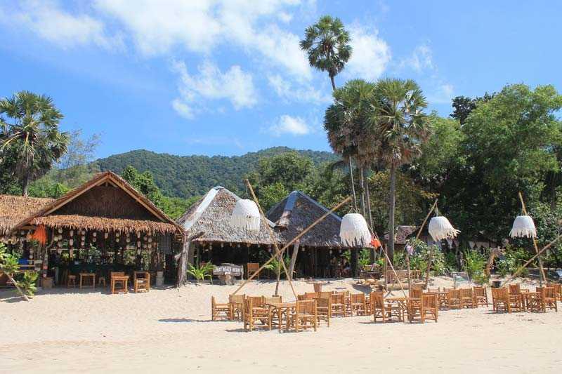 Остров Ко Ланта ресторан