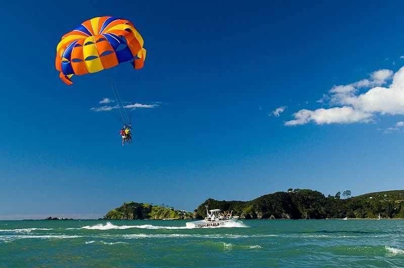 Остров Ко Тао парашют