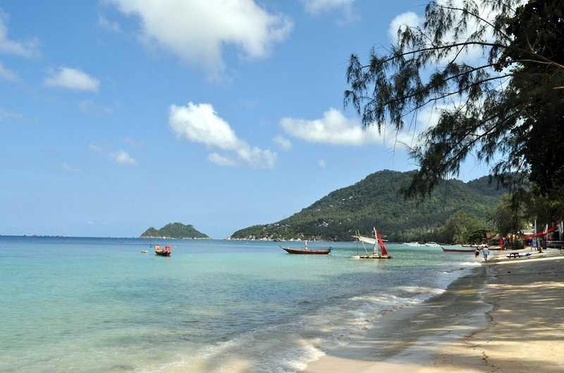 Остров Ко Тао пляж Чалок