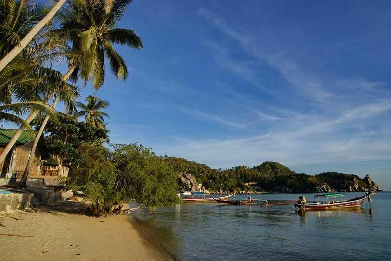 Остров Ко Тао пляжи восточного побережья