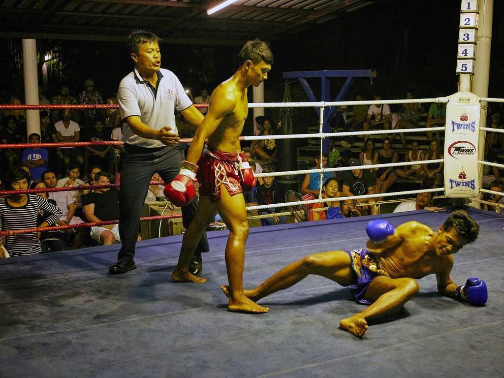 Остров Ко Тао тайский бокс