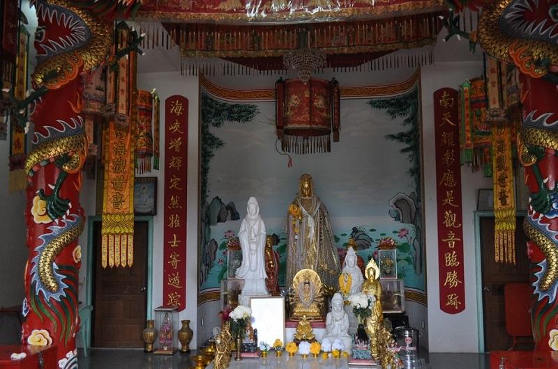 Остров Панган Тайланд Храм богини Гуань Инь