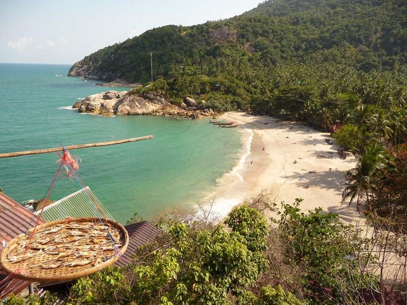 Остров Панган Тайланд пляж Тан Садет