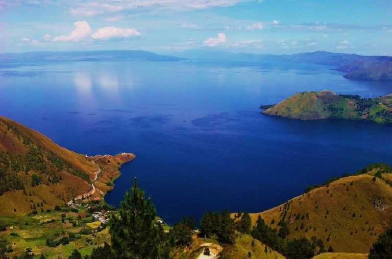 Остров Суматра Озеро Тоба