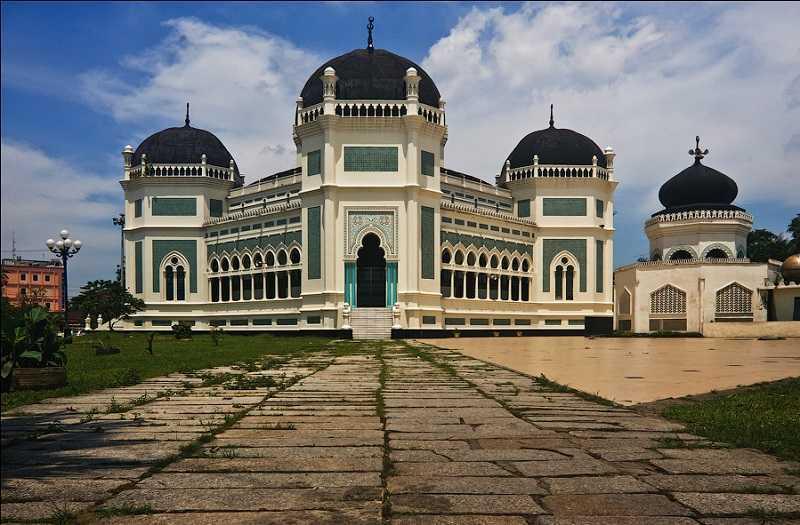 Остров Суматра Великая Мечеть