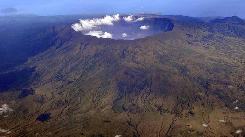 Остров Сумбава Вулкан Тамбора