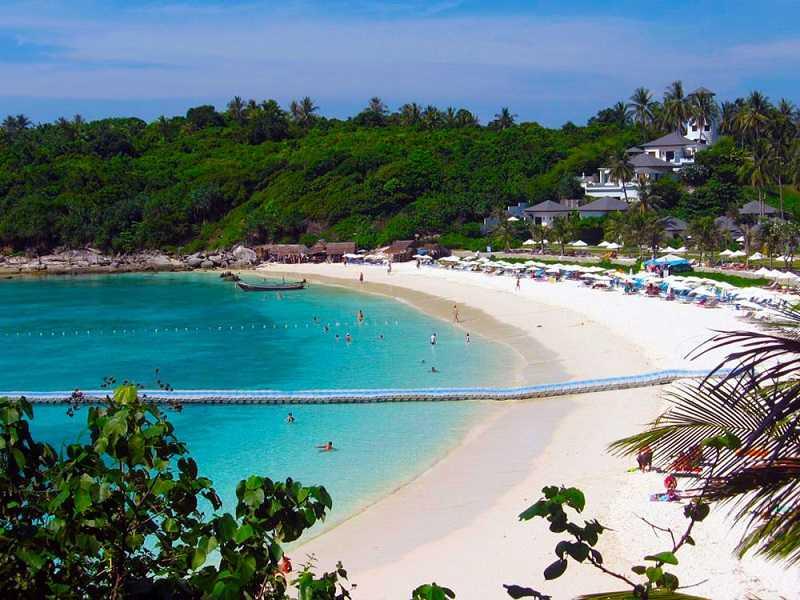 Острова Рача его пляж