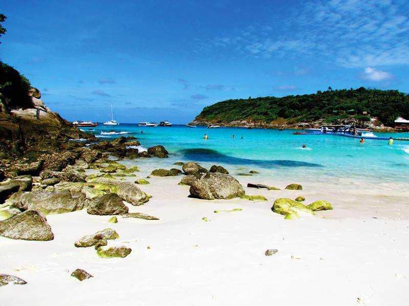 Острова Рача райское место